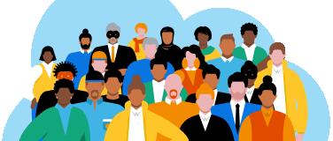 immagine di diversity e appartenenza